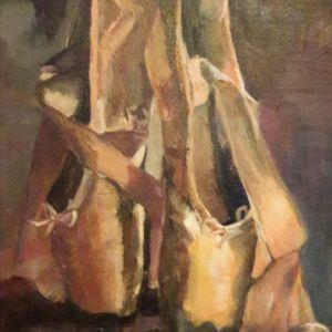 Spitzen, Acryl op doek 30 x 40 cm